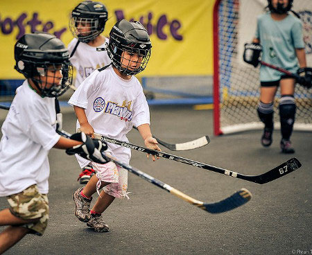 School Ball Hockey