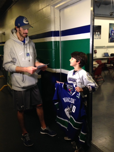 Ryan Miller Vancouver Canucks